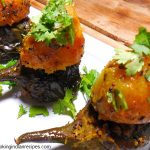 bharela baingan recipe. Bharwan Baingan Recipe. Stuffed Eggplant Recipe. Indian Curry Recipe.
