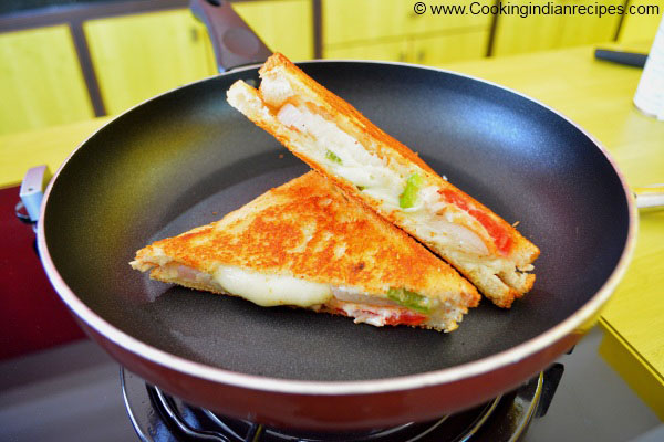 Grilled Cheese Sandwich Recipe, Indian Sandwich Recipes, Best Sandwich Recipes.