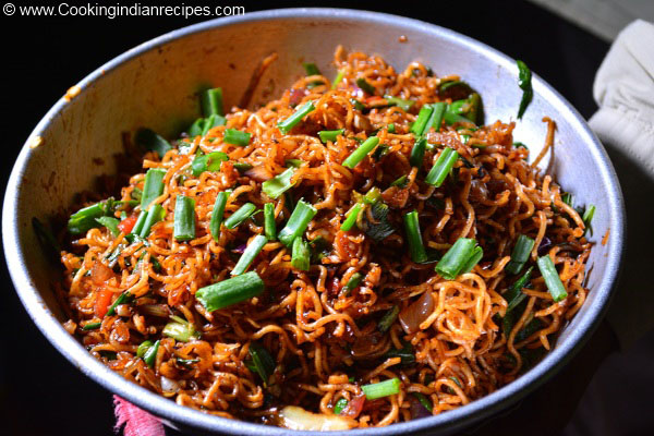 Easy Chinese Bhel Recipe, Indo Chinese Recipes. Chinese Dishes.