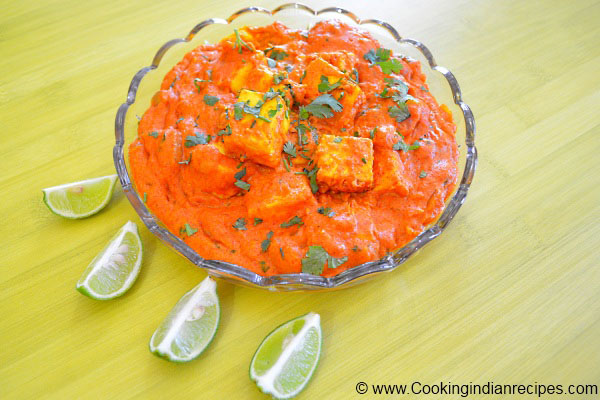 Easy Paneer butter Masala Recipe, Paneer Recipes, Paneer Dishes. Indian Curry Recipe.
