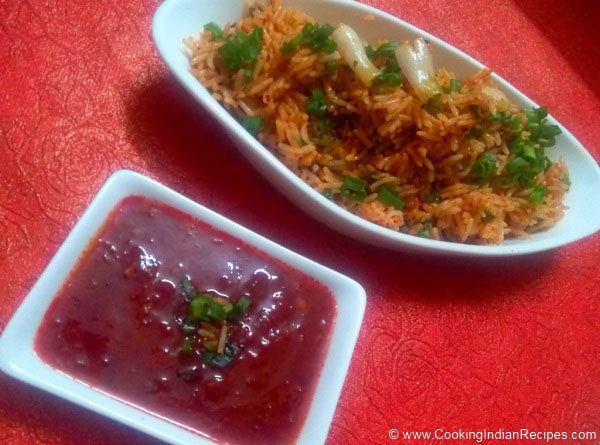 Tomato Rice Recipe in Hindi. South Indian Tomato Rice Recipe. Easy Tomato Rice Recipe. Tomato Rice Recipe Andhra Style.