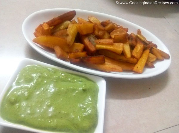 Sweet Potato Fries Recipe. How to Cook Sweet Potato Fries Recipe. Home Made Sweet Potato Fries Recipe. Indian Fasting Recipe.