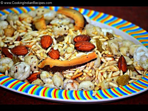 Fox Nut Snack Recipe for Fasting, Meeng Makhane ki Namkeen Recipe, Makhane ki Namkeen Recipe, Indian Fasting Recipe, Indian Snacks Recipe.