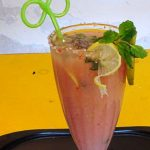 Guava Punch Mocktail Recipe, Red Guava Punch Mocktail Recipe, Guava Mocktail Recipe, Healthy Indian Drinks Recipe. Jamfal Punch Mocktail Recipe.