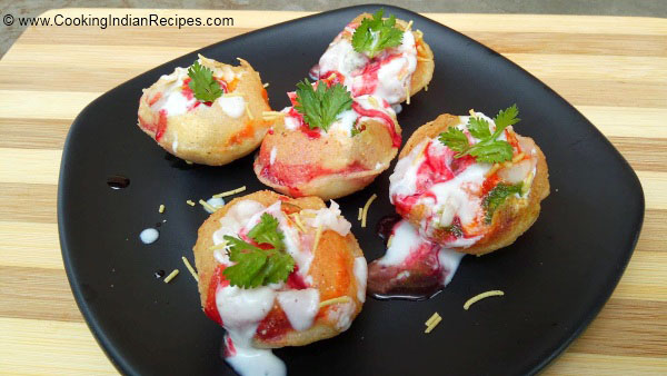 Dahi Puri Recipe, How to Make Dahi Puri, Home Made Dahi Puri, Quick Dahi Puri Recipe, Indian Fast Food Recipe, Indian Street Food Recipe. Street Food Style Dahi Puri Recipe.