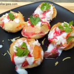 Dahi Puri Recipe in Hindi, Quick Dahi Puri Recipe, How to Make Dahi Puri Recipe, Indian Fast Food Recipe, Indian Street Food Recipe, No Fire Recipe.